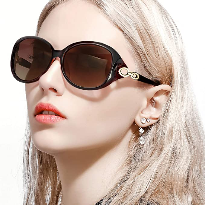 239bba91bee Image Unavailable. Image not available for. Color  FIMILU Retro Sunglasses  for Women Driving
