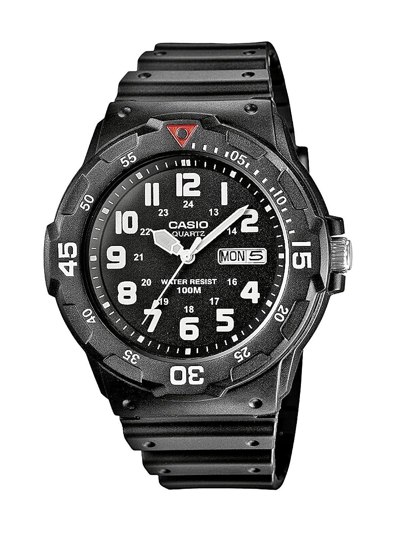 Casio Collection Reloj Analógico de Cuarzo para Hombre con Correa de Resina