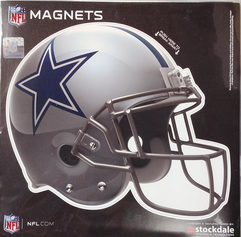 ダラスカウボーイズSDヘルメットデザイン12インチマグネットHeavy Duty自動ホームNFL Football   B071RCJ6LG