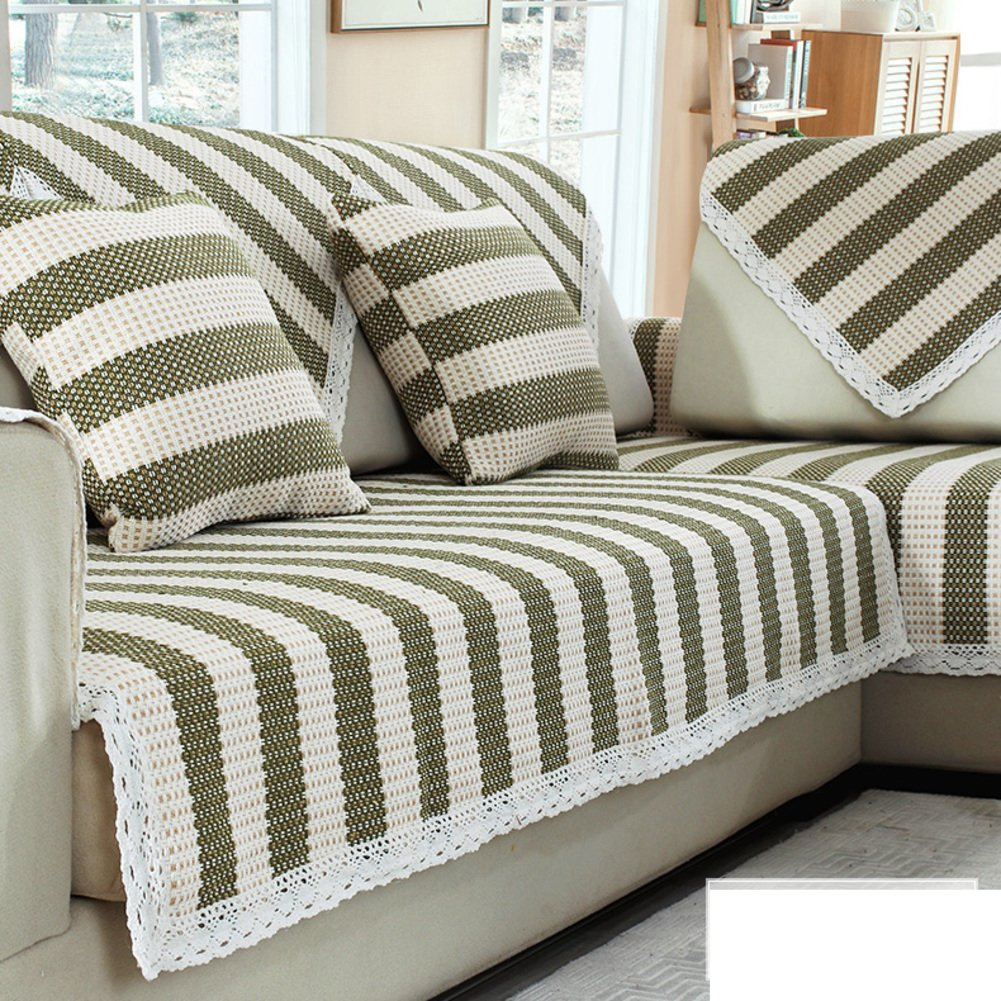 Sofa cushion towel,3 cushion sofa slipcover Armchair covers Furniture covers Couch protector Couch cushion covers Sofa sers for living room-C 110x210cm(43x83inch)