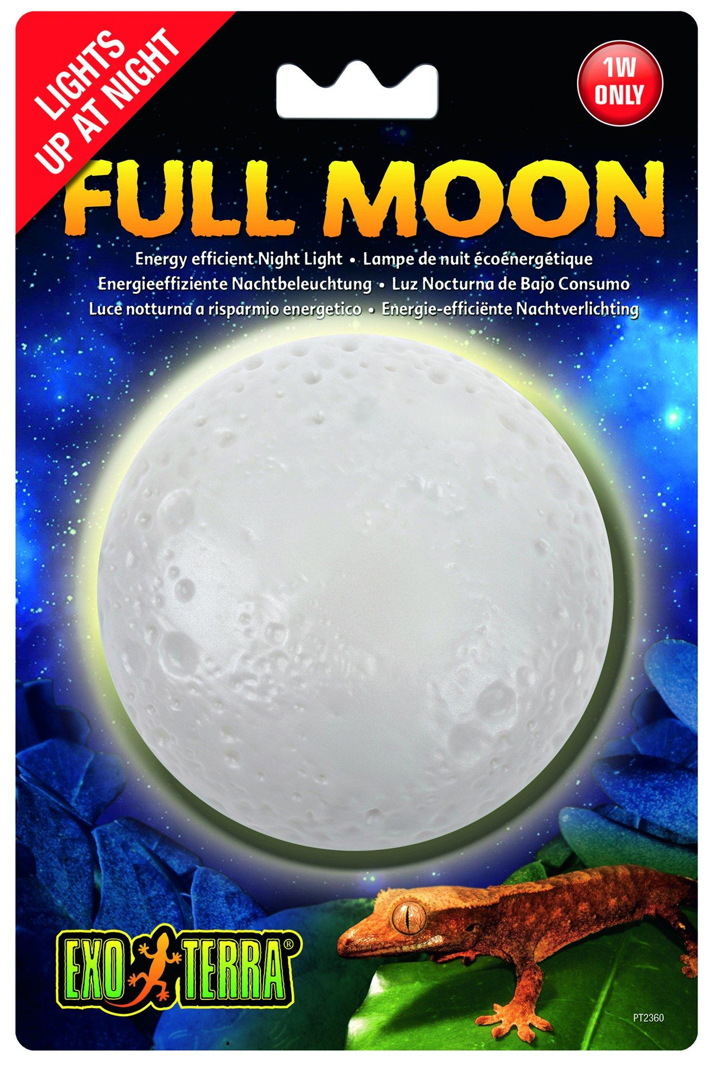 Exo Terra Full Moon Night Light, 1-watt
