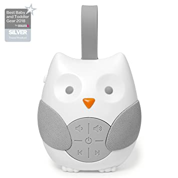 Skip Hop Stroll /& Go Portable Baby Soother and Sound Machine Owl