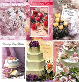 Amazon assorted wedding cards box set 8 pack handmade assorted wedding congratulations greeting cards in a bulk 12 pack m4hsunfo
