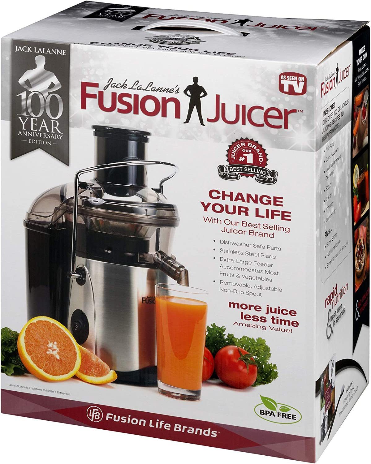 Jack Lalanne Fusion Juicer Review | My