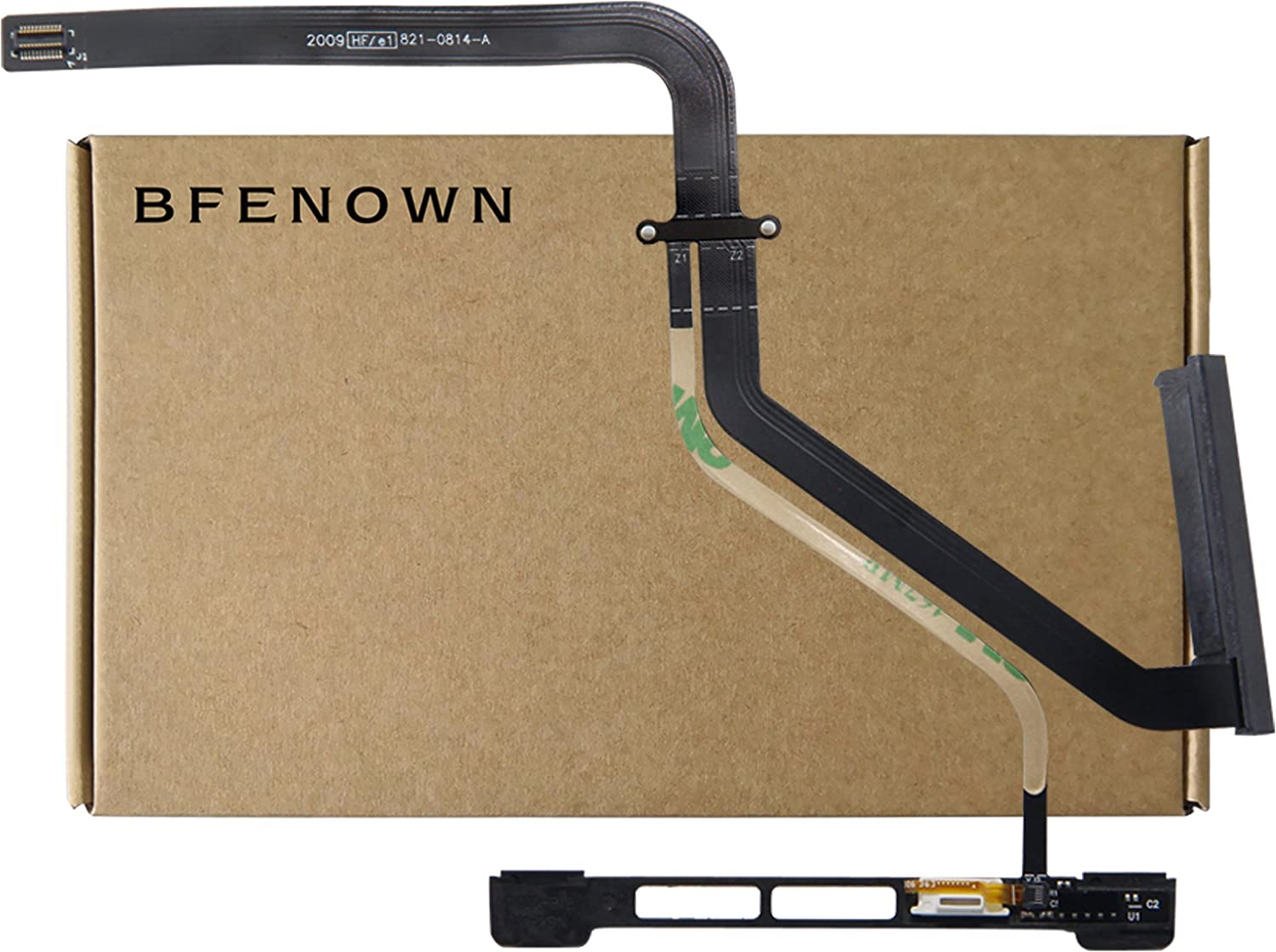 Bfenown Replacement HDD SSD SATA Hard Drive Connector Cable w/IR Sensor for MacBook Pro 13