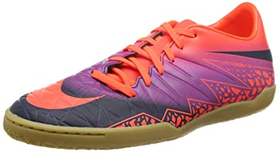 size 40 e2c45 fcfb5 Nike Men s Hypervenom Phelon II (IC) Soccer Cleat Crimson Obsidian Purple  Size