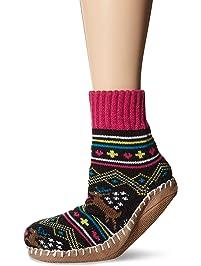 MUK LUKS womens Women's Short Slipper Socks Slipper Sock