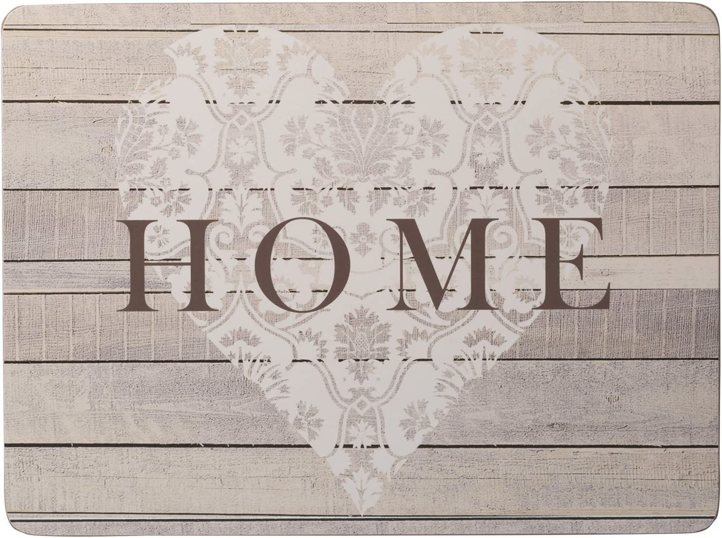 29 x 21.5 Creative Tops Everyday Home 4-piece Set Of Cork-backed Placemats By
