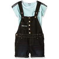DKNY Conjunto de 2 Piezas de Moda para niñas y Pantalones Cortos