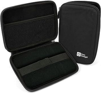DURAGADGET Funda Rígida Negra para Los GPS Tomtom GO 600 / Tomtom GO 6000 Proteger Su GPS: Amazon.es: Electrónica