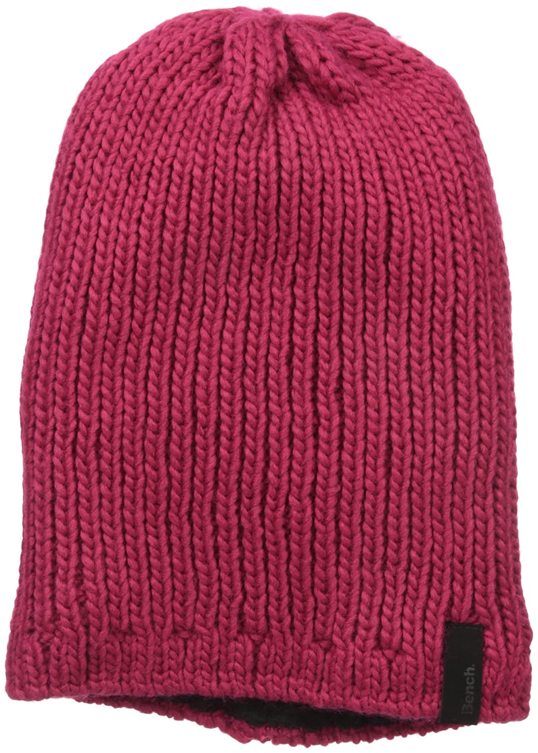 Bench Women's Pipe 4 Slouch Rib Knit Hat