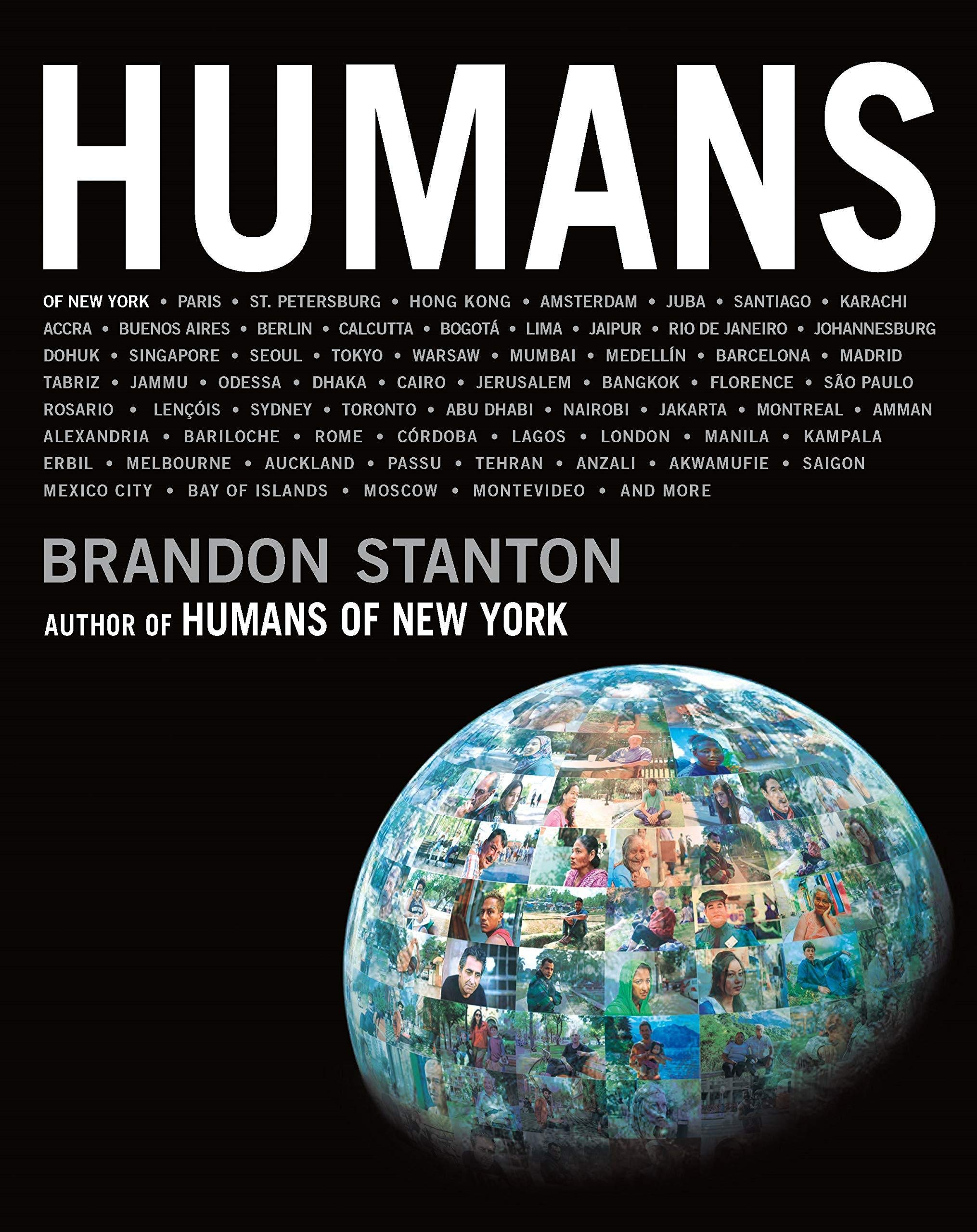 Humans books by photographers