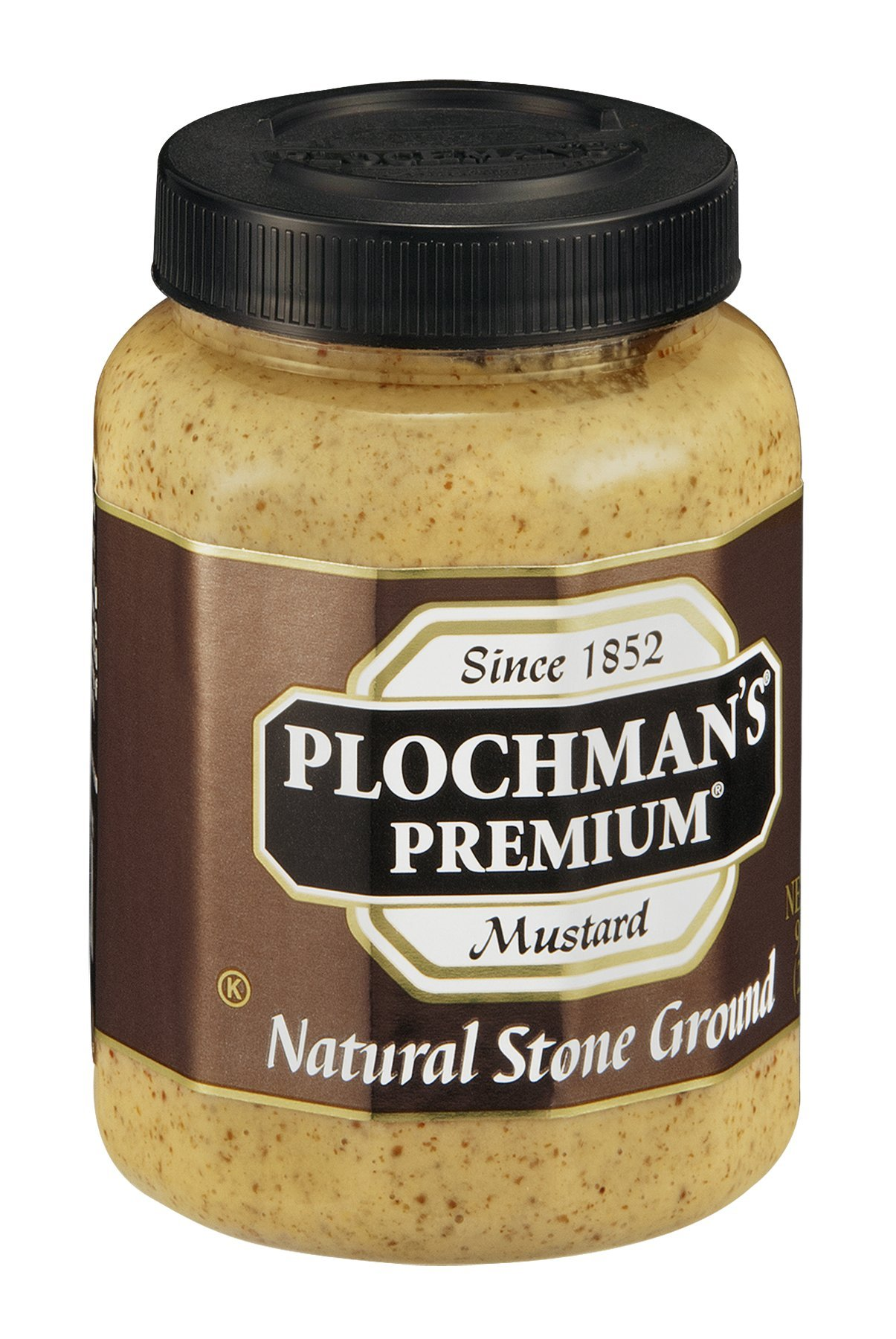 Plochmans Mustard Stone Grnd Pet 9 Oz