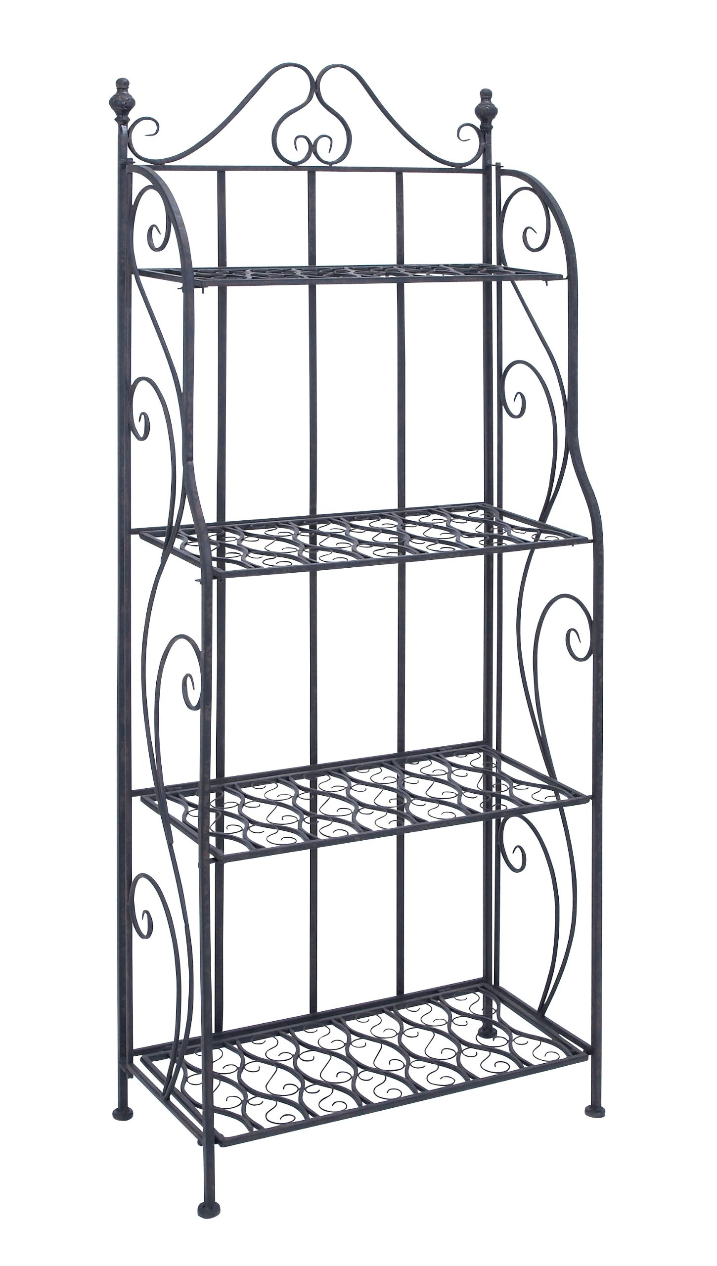Deco 79 Metal Bakers Rack, 64-Inch by 25-Inch