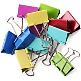 Mr. Pen- Large Binder Clips, 2 Inch, 12 Pack, Colored Binder Clips, Binder Clips, Clips, Paper Clip, Binder Clip, Large…
