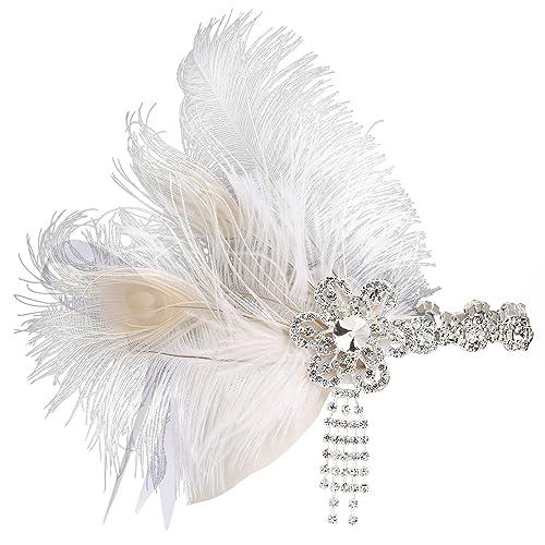Babe yond 1920s Muelle cinta 20años estilo Art Deco Flapper pelo banda Great Gatsby cinta para disfr...