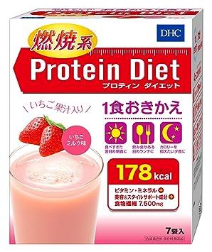 DHC プロティンダイエット いちごミルク味7袋入 50g×7袋入