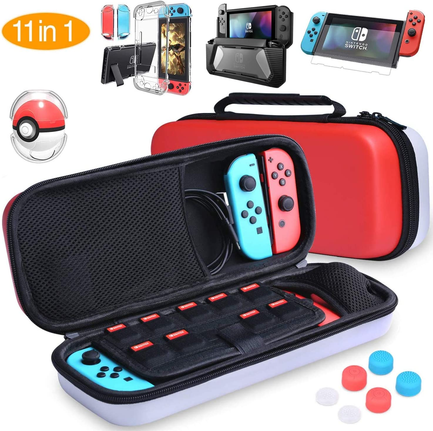 HEYSTOP Accesorios para Nintendo Switch, Funda Nintendo Switch ...