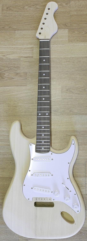 Guitarra Eléctrica Stratocaste - Paquete Hágalo Usted Mismo - Construye Tu Propia Guitarra: Amazon.es: Instrumentos musicales