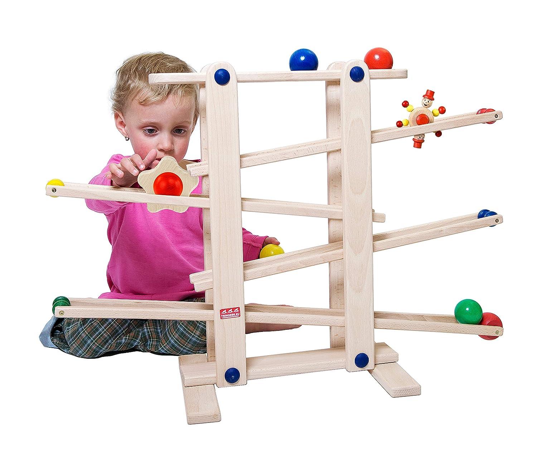 Trihorse Kugelbahn MAXI aus Holz Ideal für Kind und Baby