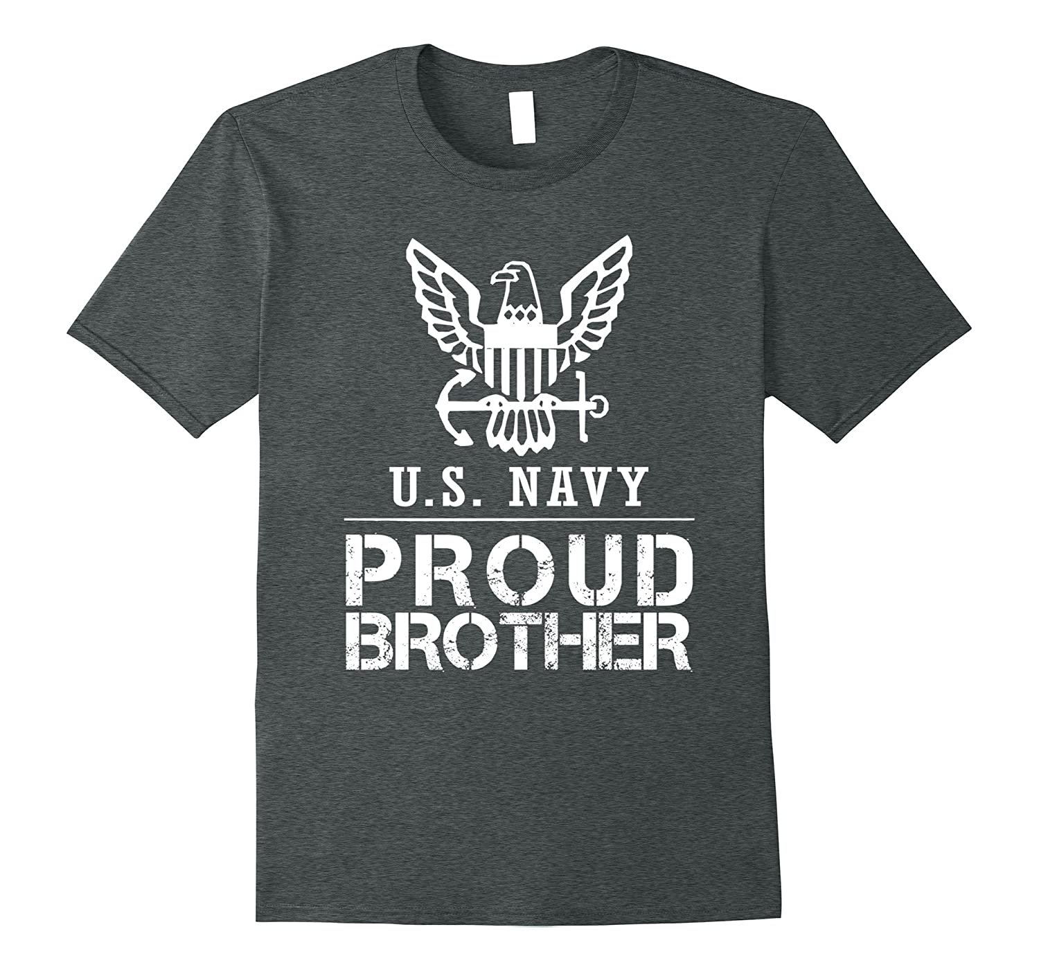 Proud US Navy Brother Tee US Army T Shirt