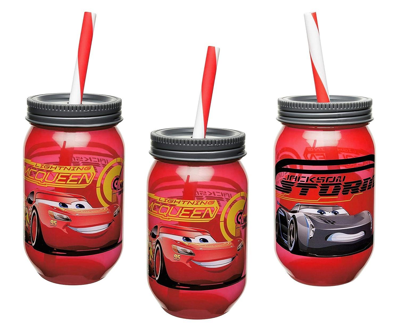 Amazon.com: Disney-Pixar - Juego de 3 vasos de latón para ...