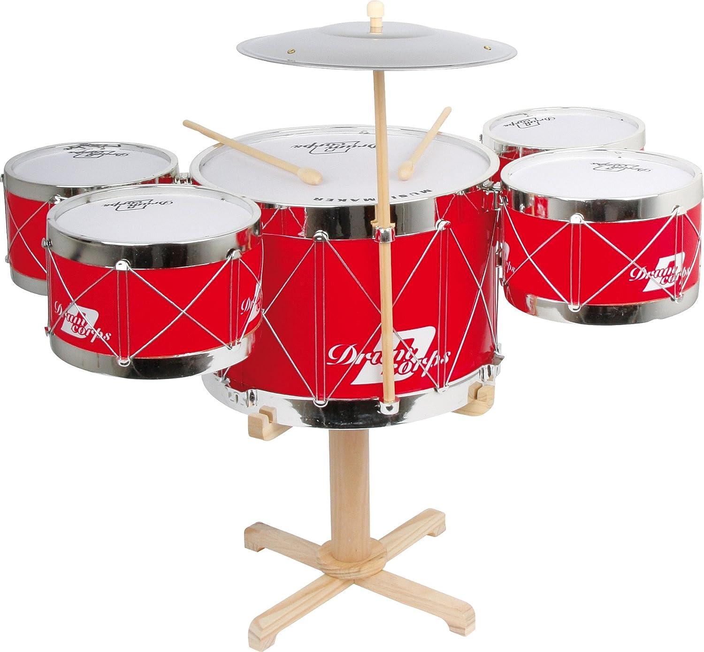 Legler Legler Legler Kinder Musikinstrument Schlagzeug mit 5 Trommeln f89bb3