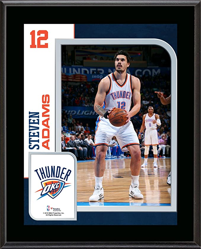 9d1a0aedb72 Steven Adams Oklahoma City Thunder 10.5   x 13   Sublimated Player Plaque -  NBA Player Plaques and Collages at Amazon s Sports Collectibles Store