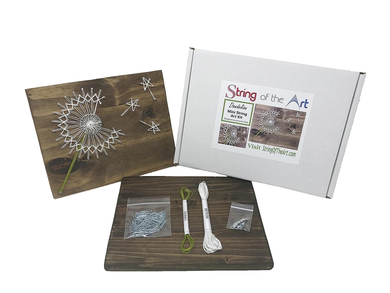 Amazon.com: Dandelion String Art Kit - DIY Kit, Crafts Kit for ...