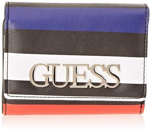 Guess - Felix, Carteras Mujer, Multicolor (Stripe/Stp), 12.5x11x3
