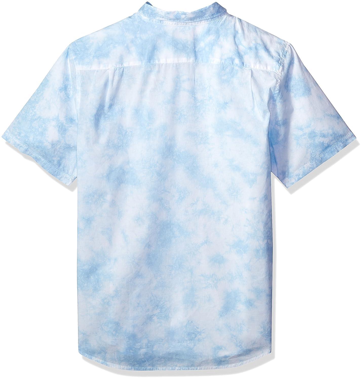 RVCA 10512 B06XXPXGGC Camisa de manga corta con para botones y ...