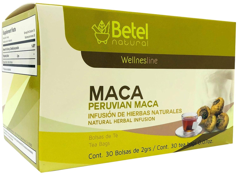 Amazon.com: Peruvian Maca Tea by Betel Natural - Amazing ...