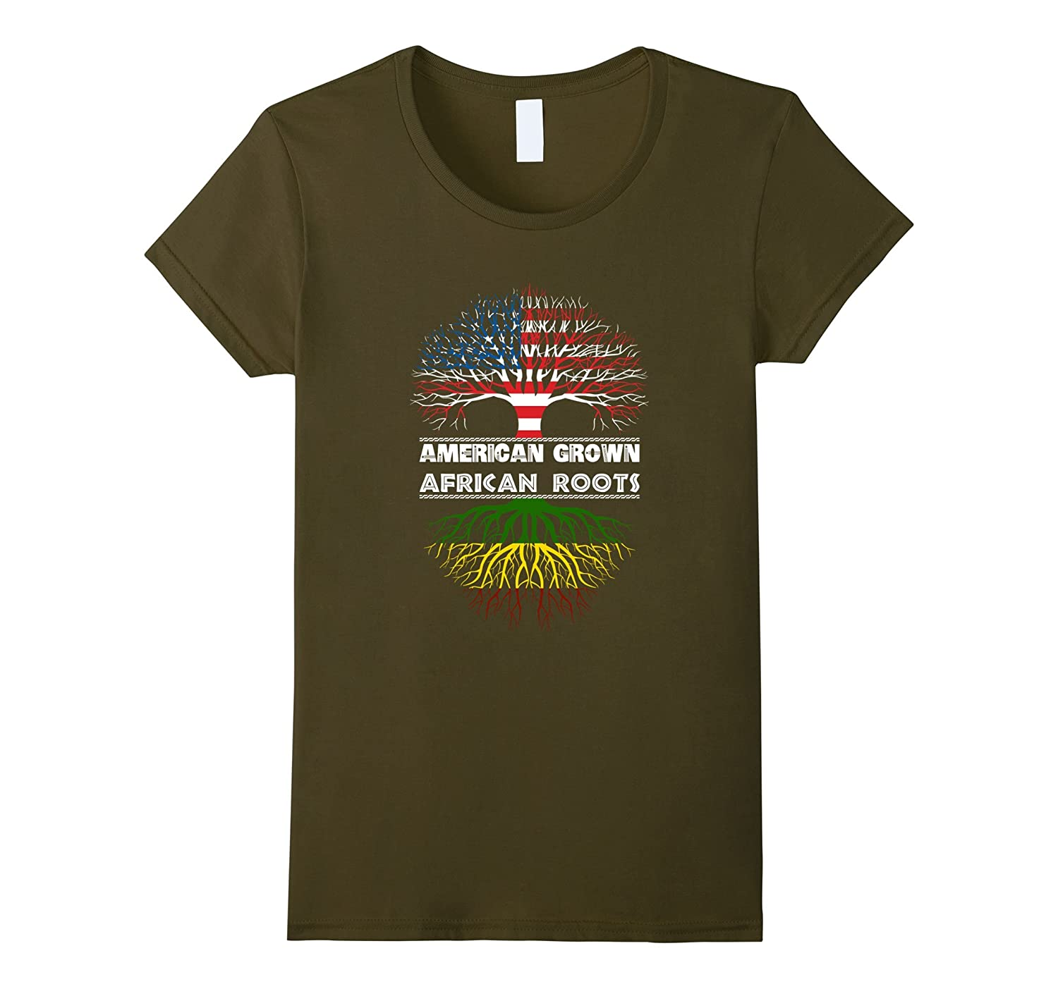 American Grown With AFRICAN Roots T-Shirt