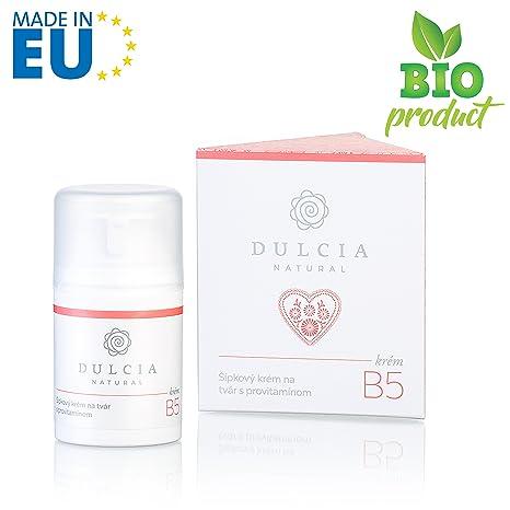 DULCIA Crema facial de aceite de rosa mosqueta con Provitamina B5, con alto contenido de