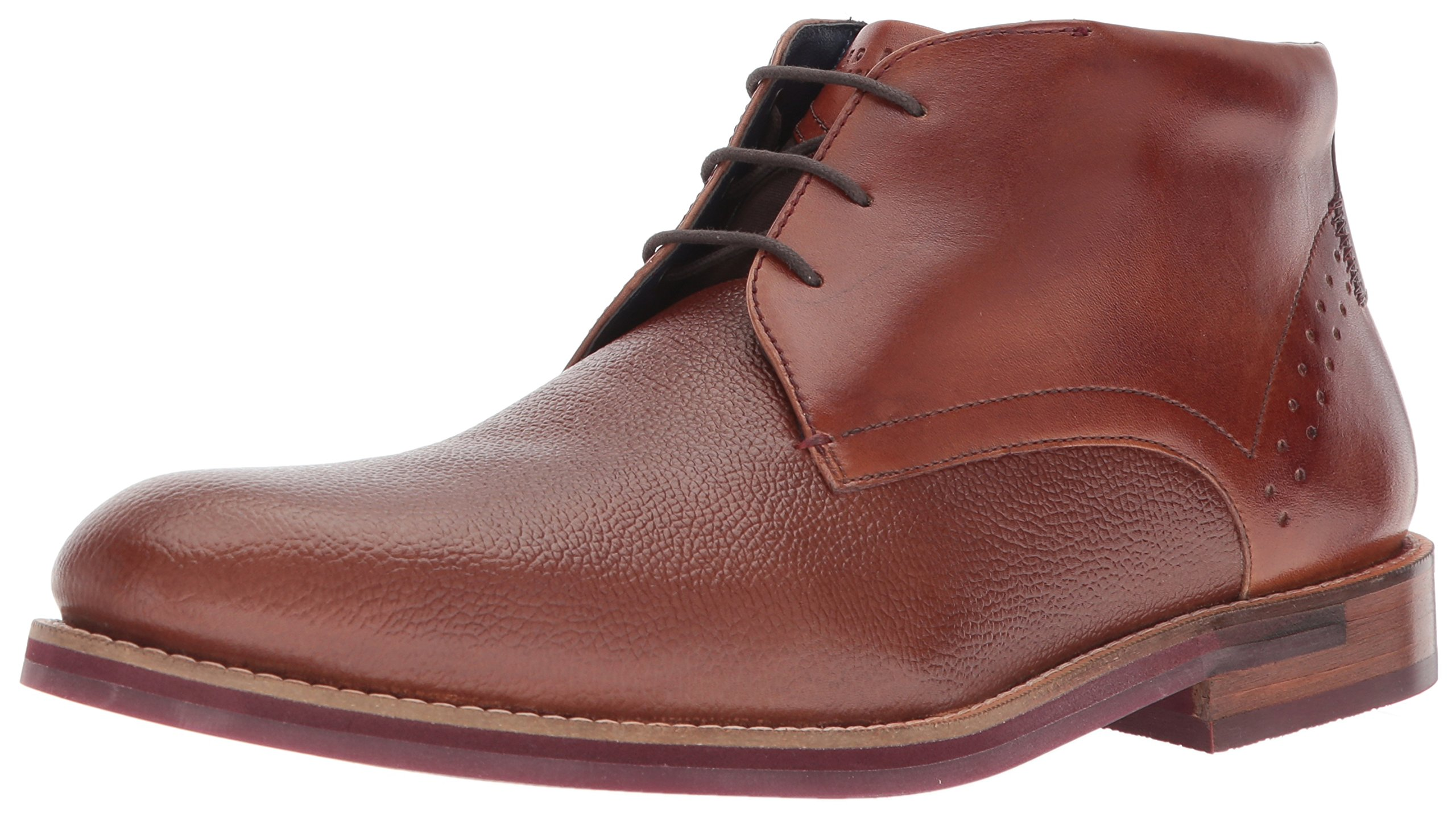 Ted Baker Men's Daiino Boot, Tan Leather, 8.5 D(M) US