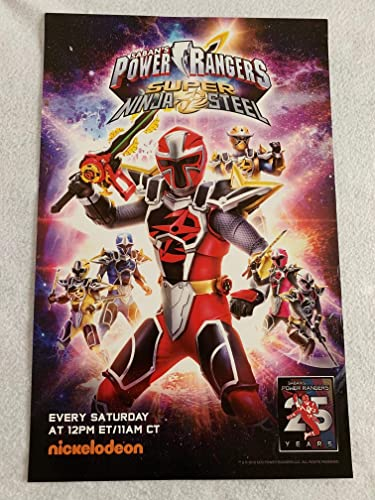 Sabans POWER RANGERS SUPER NINJA STEEL 11