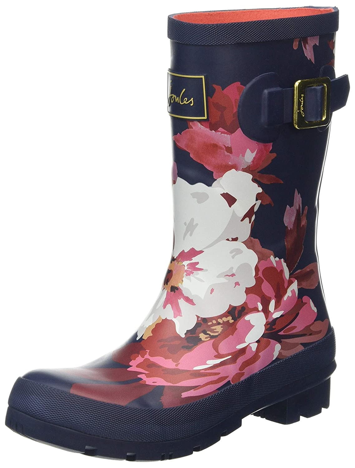 French Navy Bircham Bloom Joules Women's Molly Welly Rain