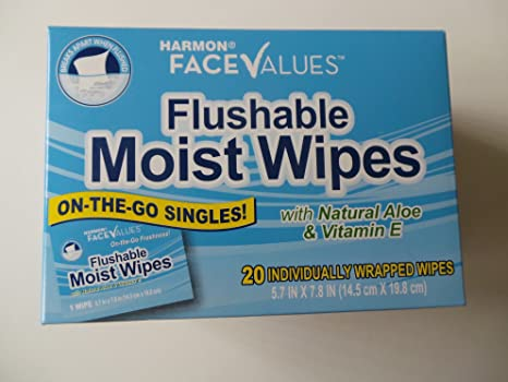 Review Flushable Moist Wipes Individually
