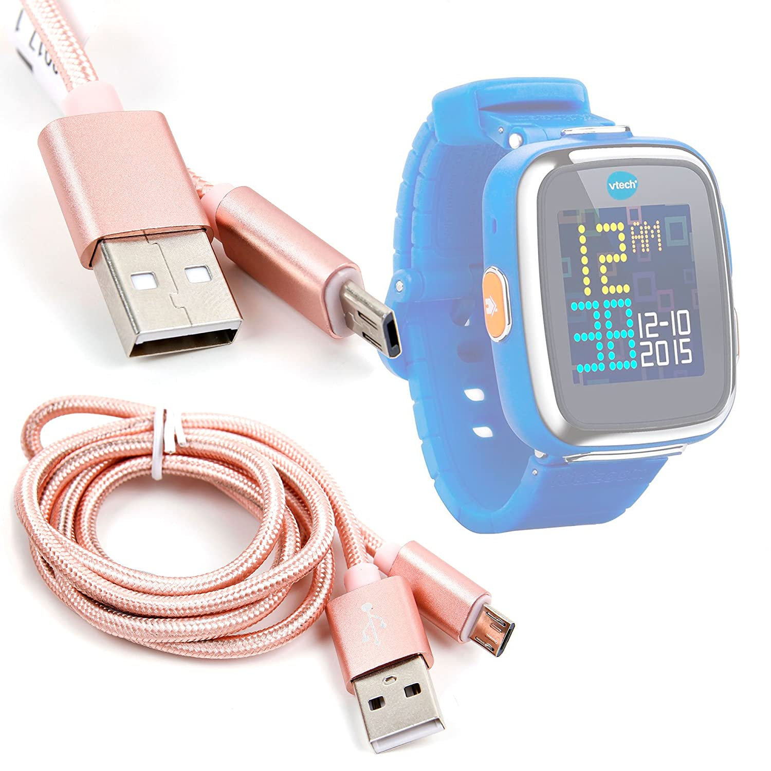 Amazon.com: DURAGADGET Rose Gold Micro USB Data Sync Cable ...
