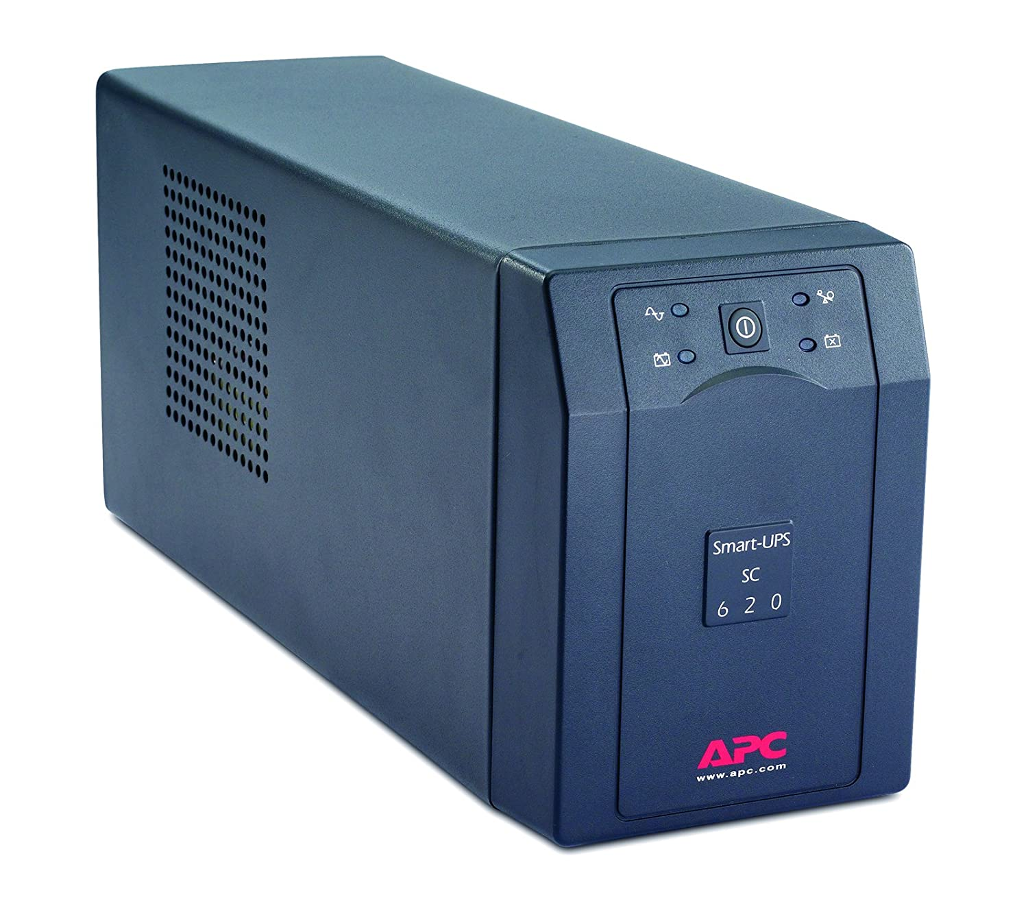 APC Smart-UPS SC - SC620I - Uninterruptible Power Supply 620VA (Line  Interactive, 4 Outlets IEC-C13, Shutdown Software)