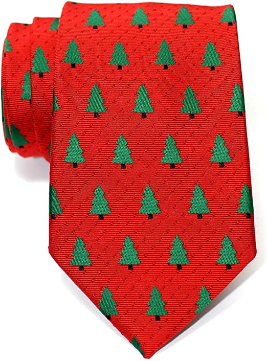 Retreez Herren Gewebte Weihnachten Krawatte Weihnachtsmann 8 cm