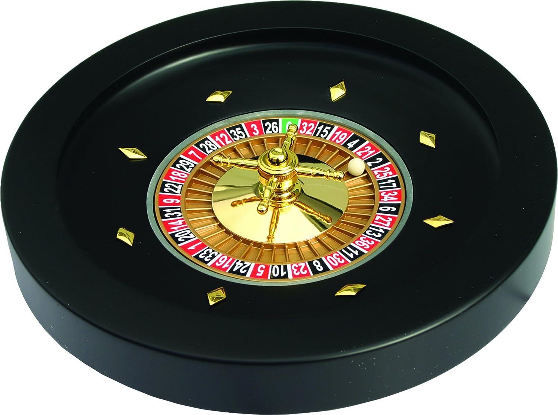 Unbekannt Roulette bak 52 cm Zwart Hout MDF  kogel