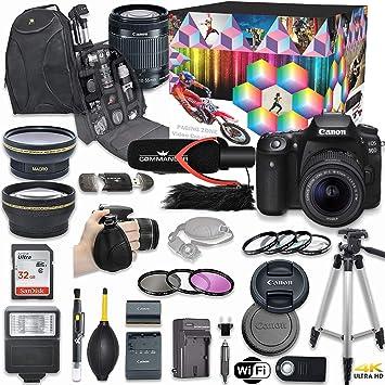 Amazon.com: Canon EOS 90D - Kit de cámara réflex digital ...