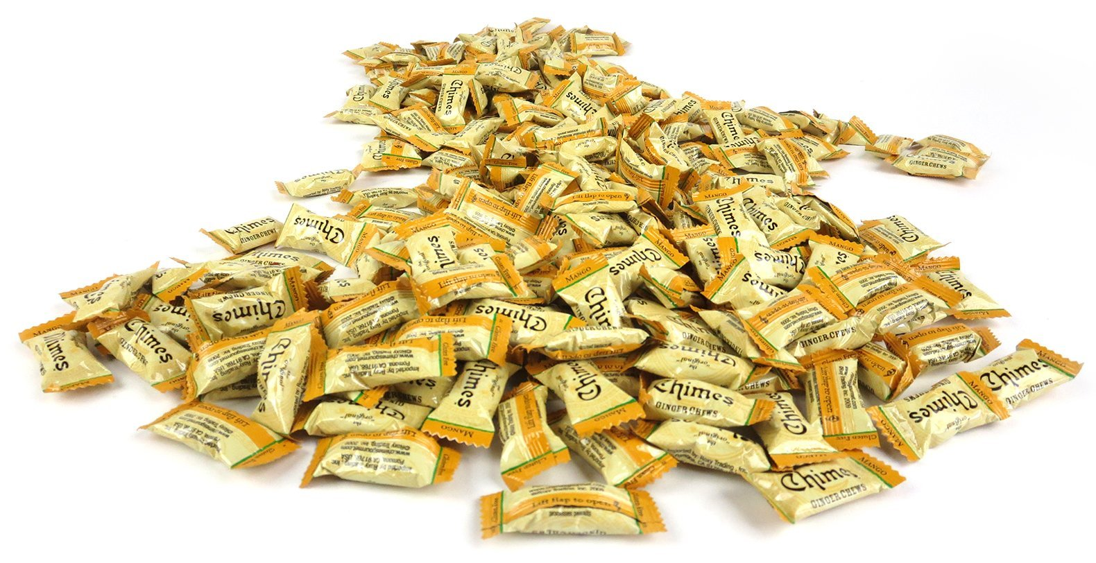 Chimes Mango Ginger Chews, 3 lb Bag in a BlackTie Box by Black Tie Mercantile (Image #4)