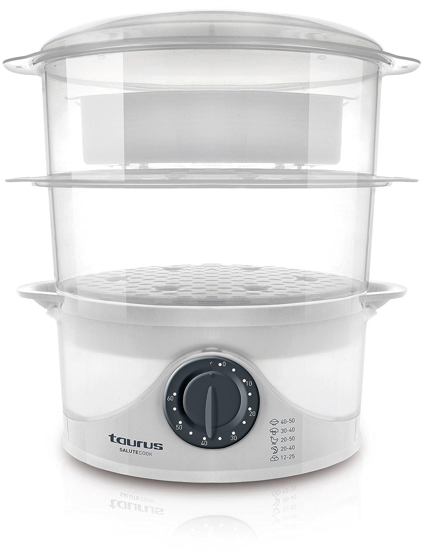 Taurus 968116000 Vaporera, Plástico: Amazon.es: Hogar