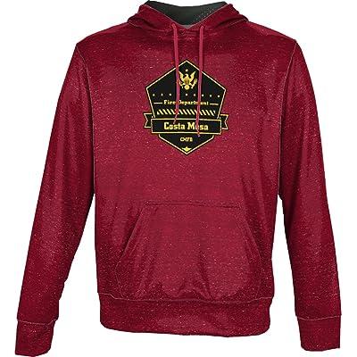 ProSphere Boys' Costa Mesa Fire Department Heather Hoodie Sweatshirt (Apparel)