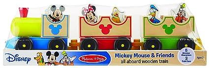 Amazon.com: Melissa & Doug Disney Baby Mickey Mouse and Friends All ...
