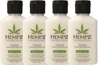 product image for Hempz Original Herbal Body Moisturizer, 2.25 Oz Pack Of 4, 2.25 Oz