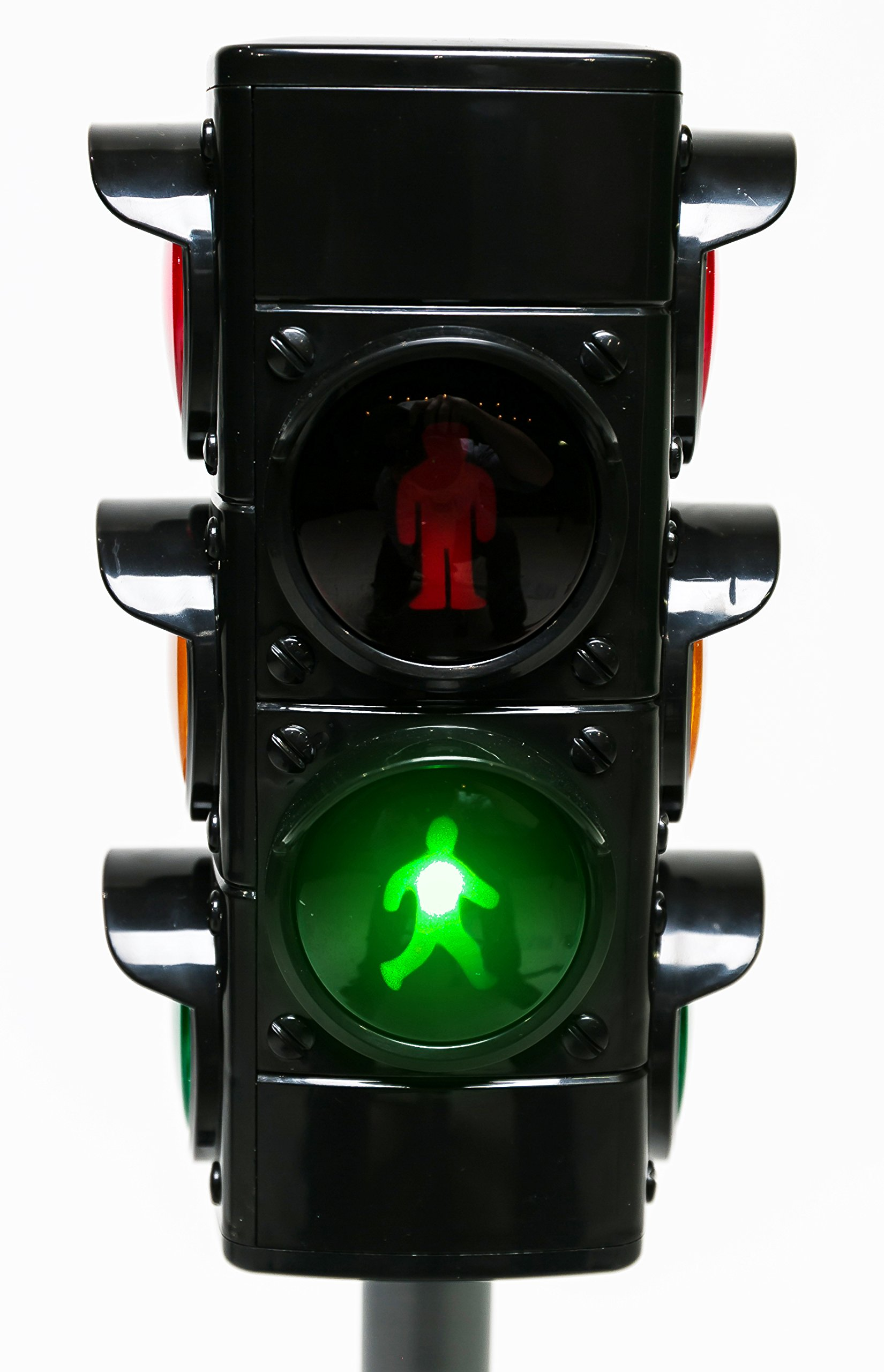MMP Living Toy Traffic & Crosswalk Signal with Light & Sound - 4 Sided, Over 2 feet Tall by MMP Living (Image #5)