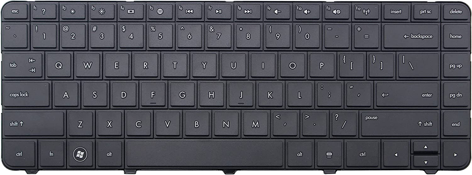 CHNASAWE Laptop Replacement Keyboard for HP Home 2000-2a01XX 2000-2a09CA 2000-2a10NR 2000-2a12HE 2000-2a20CA 2000-2a20NR 2000-2a22NR 2000-2a23NR 2000-2a24NR 2000-2a28CA 2000-2a28DX 2000-2a51XX 2000-2a53CA Notebook PC, US layout Black color